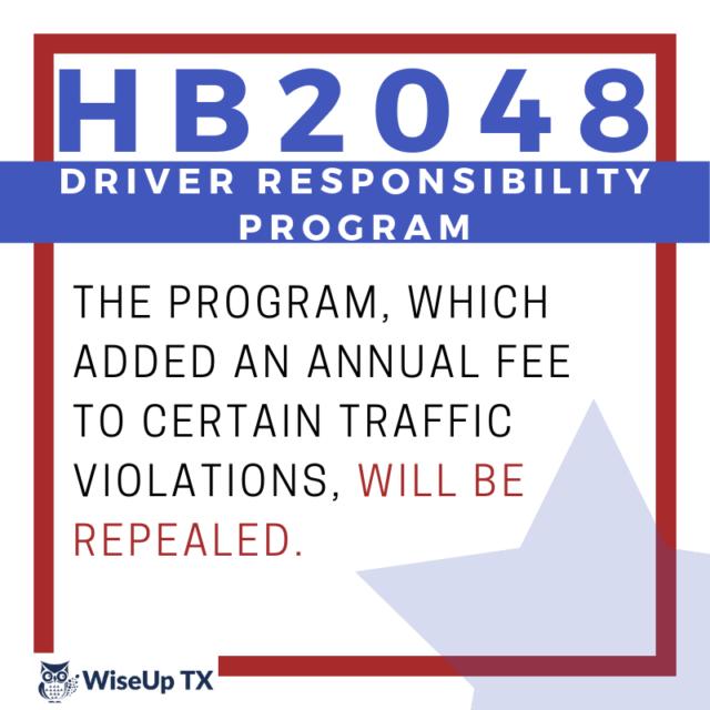 Texas HB2048